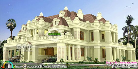 975 sq-m 6 bedroom decorative house Colonial style