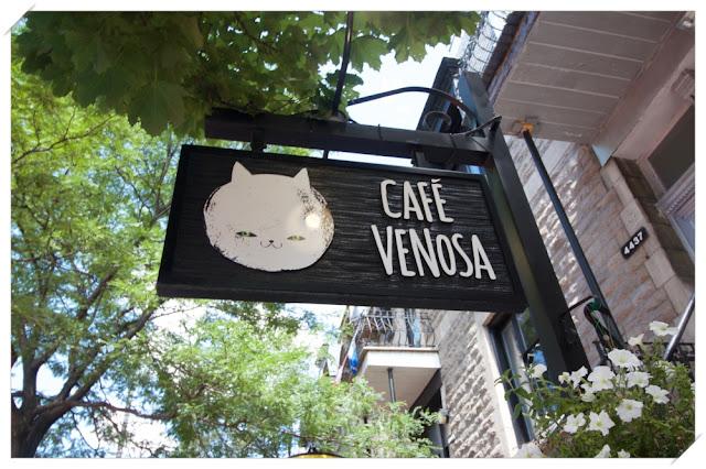 Café Venosa Rue Saint Denis Montréal