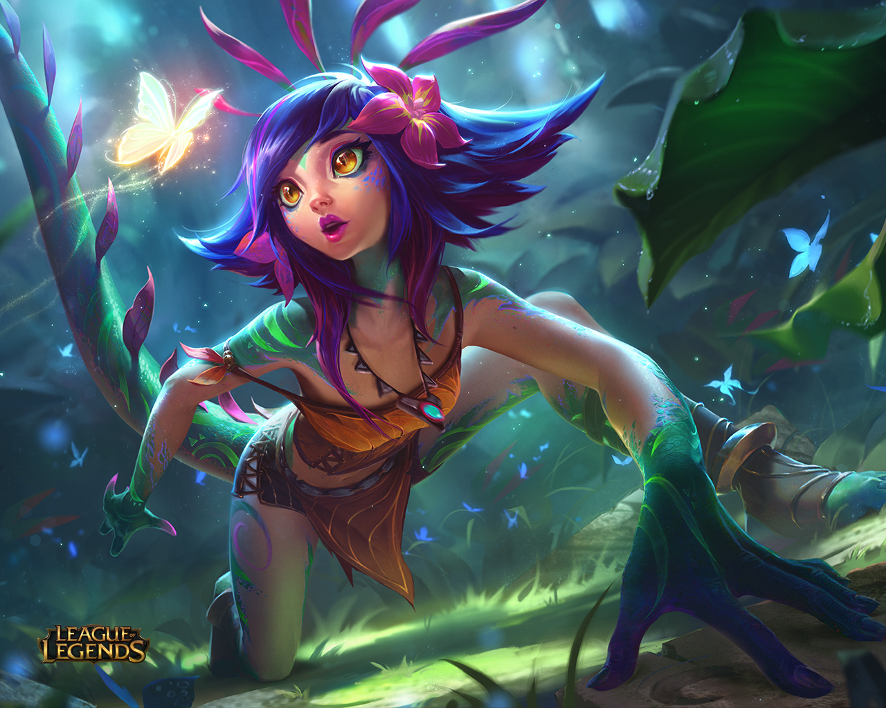 Surrender At 20 Champion Reveal Neeko The Curious Chameleon