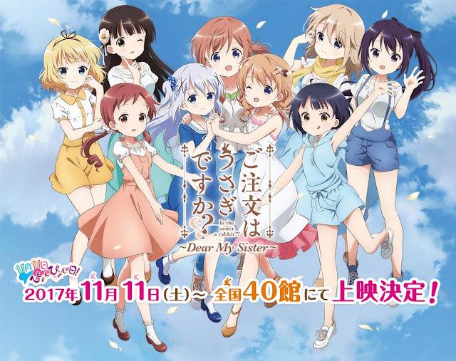 Download OST Theme Song Anime Gochuumon wa Usagi desu ka??: Dear My Sister Full Version