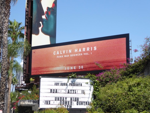 Calvin Harris Funk Wav Bounces Vol 1 billboard