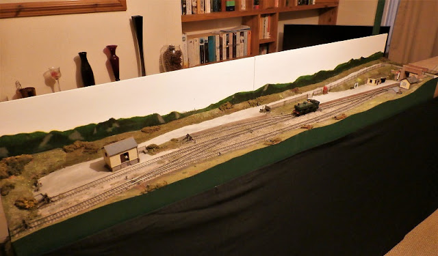 The art of compromise model railway layout, by Roy Link.