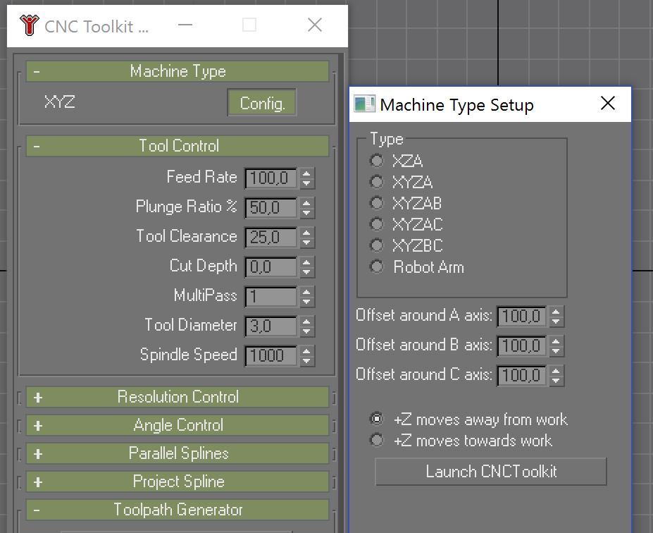 Tales of a modern life: Multi Axis G-Code generation with CNC-Toolkit
