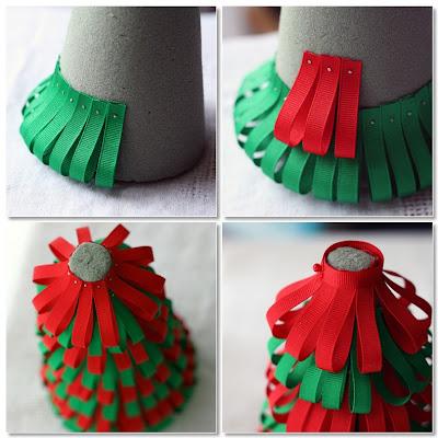 arvore cone natalina