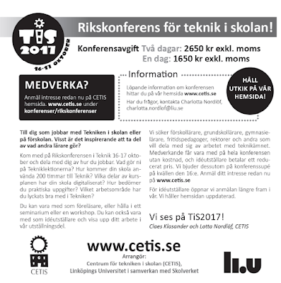 http://liu.se/cetis/konferenser/rikskonferenser.shtml