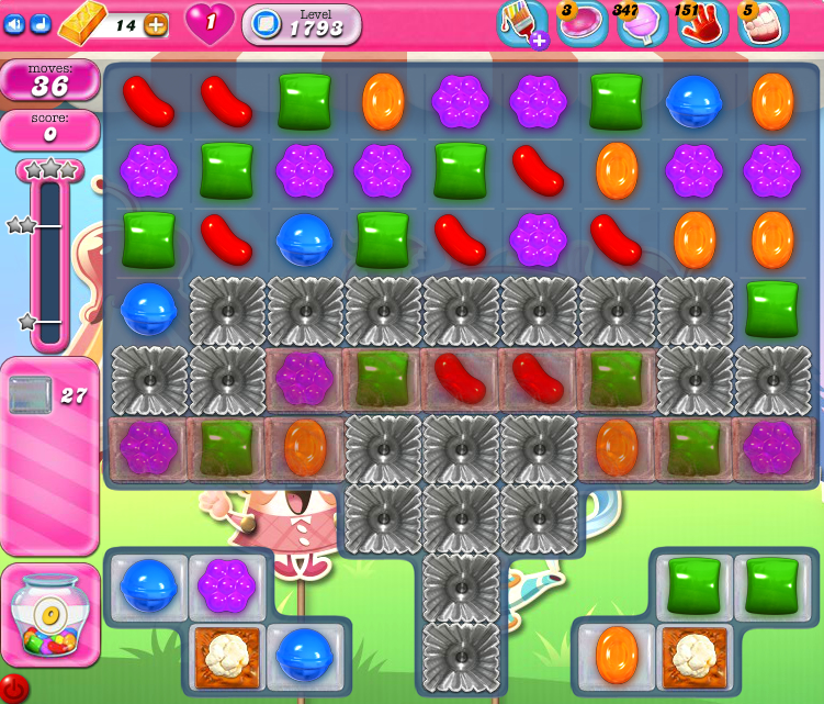 Candy Crush Saga 1793