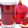 recipes of pomegranate juice