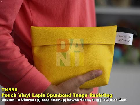 Pouch Vinyl Lapis Spunbond Tanpa Resleting