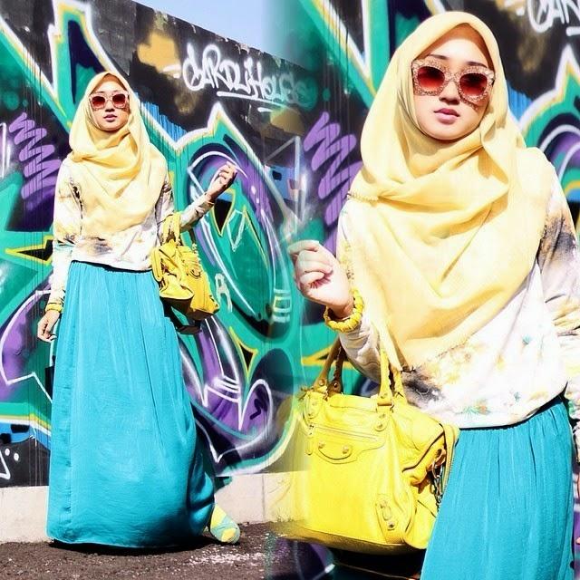 Trick Padu Padan Baju Muslim Untuk Yang Berpinggul Besar Dari Dian