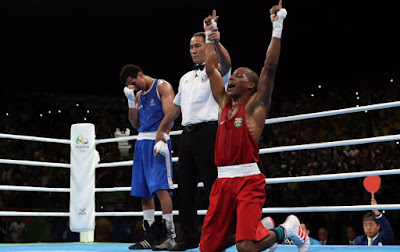 Robson Conceicao Wins Historic Boxing First Gold for Host Nation