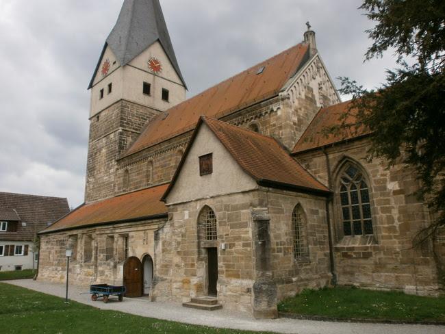 wege in der region stuttgart die stiftskirche faurndau ein romanisches kleinod. Black Bedroom Furniture Sets. Home Design Ideas