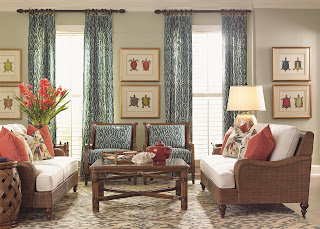 Tommy bahama tropical Decor at Baers furniture