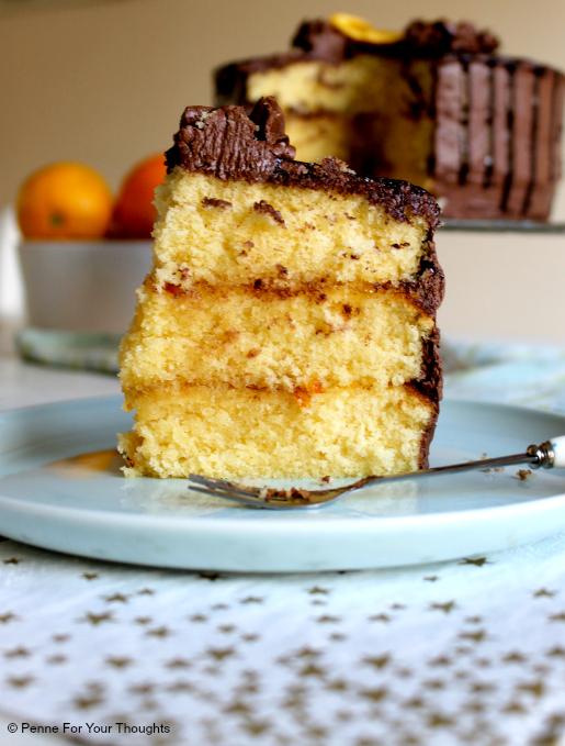 Jaffa Layer Cake Recipe