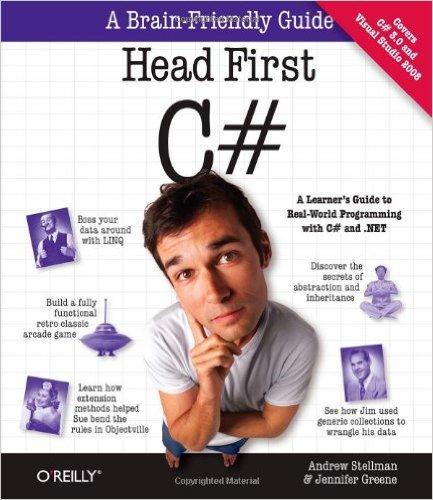 كتاب Head First C# لتعلم لغة سي شارب بالانجليزية
