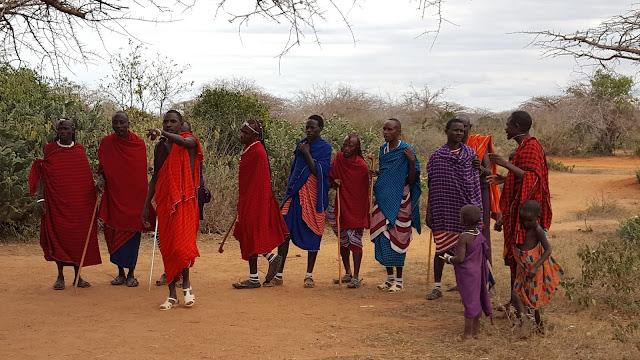 Masajowie, taniec