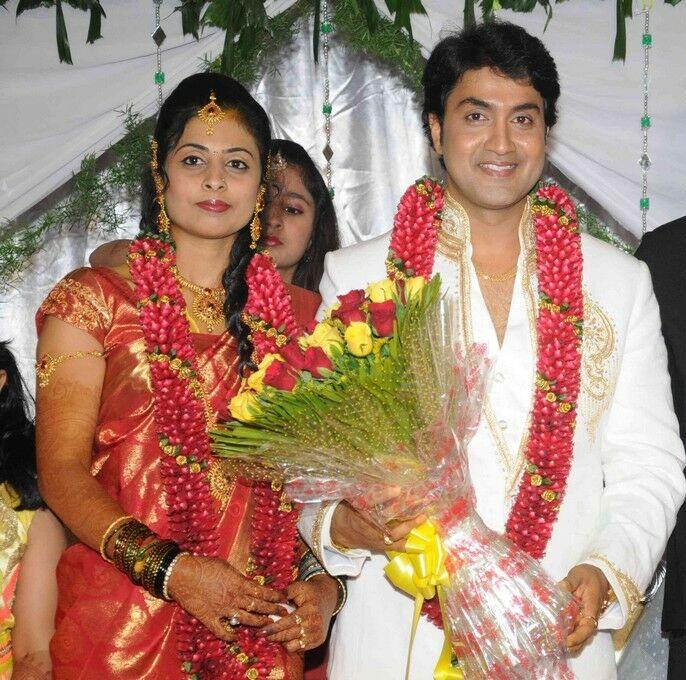 Kannada Actor Harish Raj Magnificent Wedlock To Shruthi