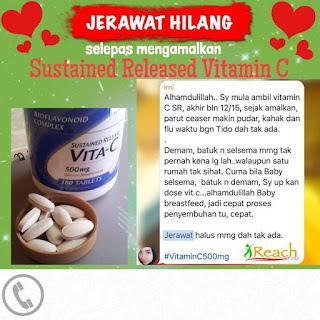 Vitamin c hilangkan jerawat, vitamin c shaklee