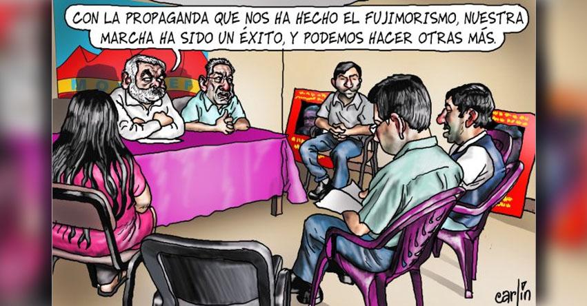 Carlincaturas Miércoles 10 Mayo 2017 - La República