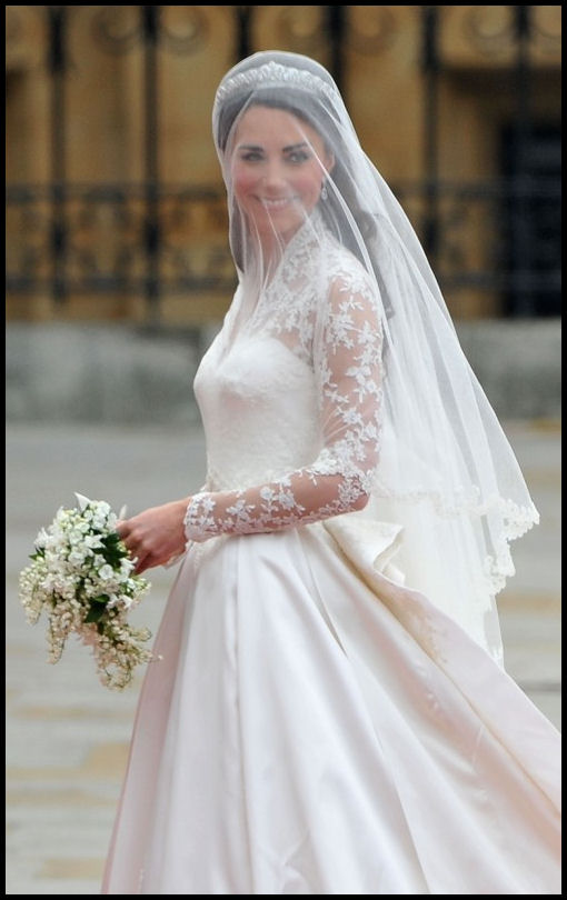 Kate's wedding veil