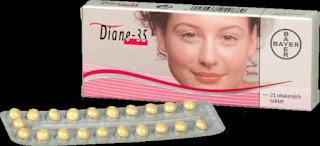 thuốc ngừa thai dinane 35 trị mụn trứng cá nội tiết tố sinh lý