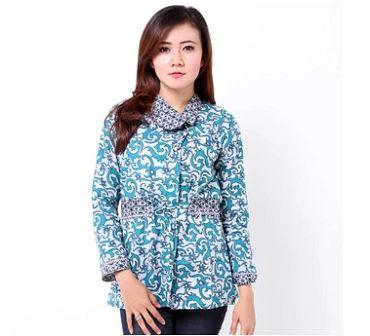 Model Seragam Batik Guru Modern