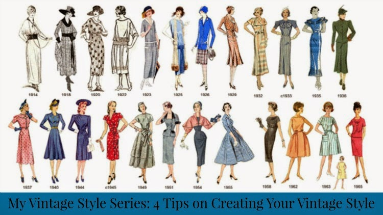 A Vintage Nerd Vintage Blog Retro Fashion Vintage Fashion Inspiration Creating Your Vintage Style