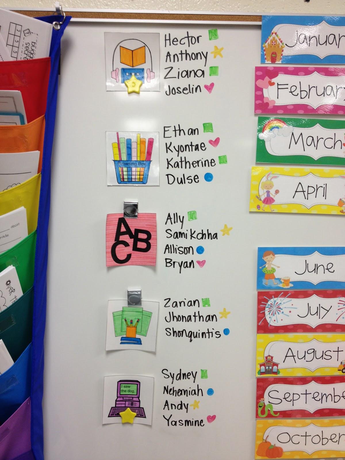 Kindergarten Classroom: Little Miss Glamour Goes To Kindergarten: Classroom Set-Up