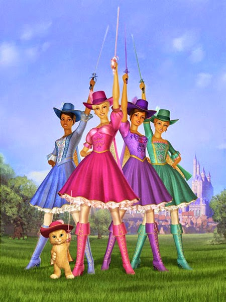 Barbie and the Three Musketeers (2009) Watch Free HD Full Movie on Popcorn Time
