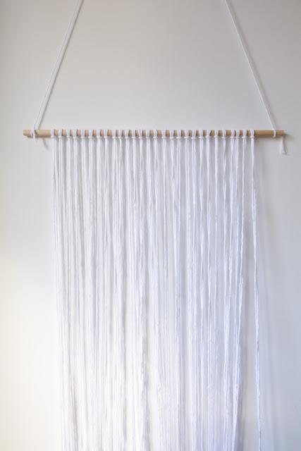 Empezando el tapiz