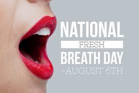 Ημέρα φρέσκιας αναπνοής / Fresh Breath Day