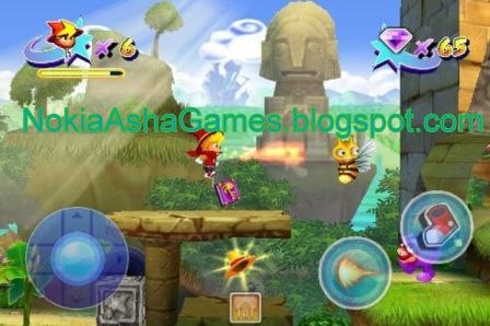 Castle of magic 400x240 game download for nokia asha 305 306 308.