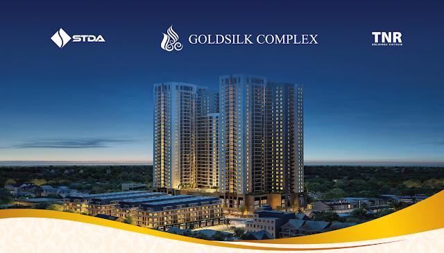 phân khu dự án Goldsilk Complex