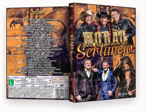 CAPA DVD – Modão Sertanejo 2019-DVD-R