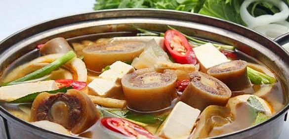 Cách làm món Lẩu bò sa tế ngon