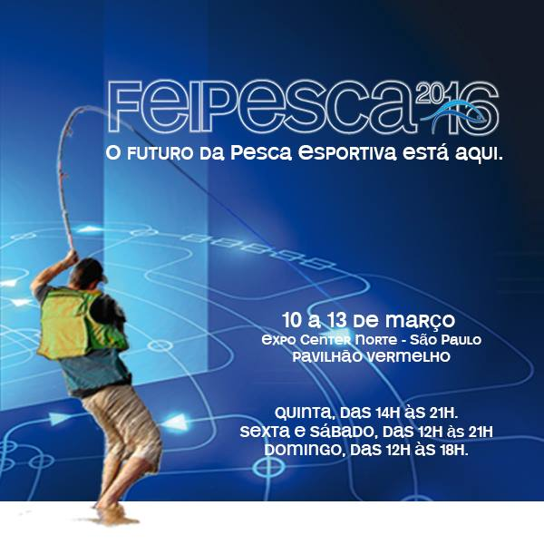 Evento, Expo Center Norte, Feipesca 2016, Nó de Pesca