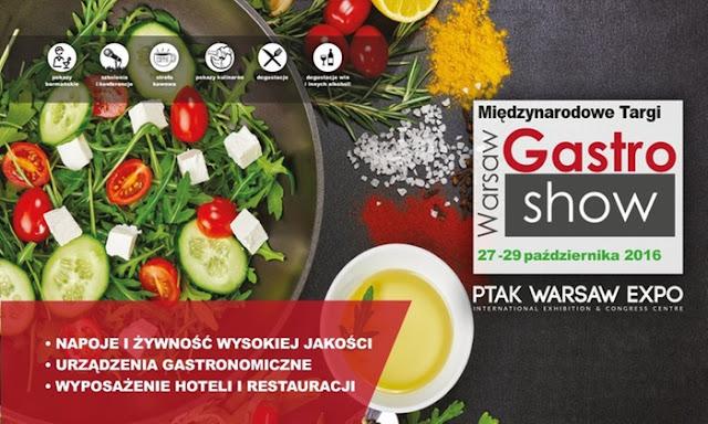 Targi Warsaw Gastro Show i konkurs BlogerChef Fusion Gastro