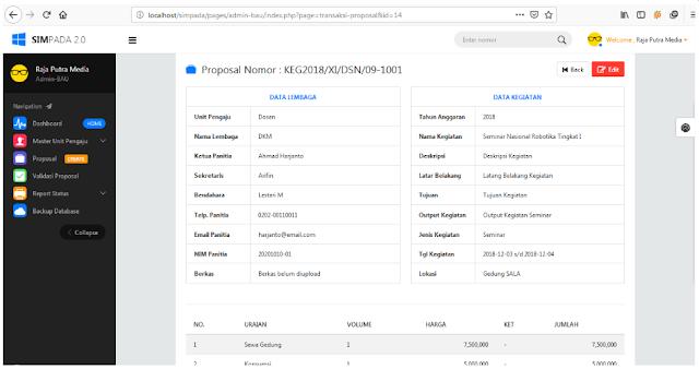 """alt=""""Aplikasi Sistem Informasi Pengajuan Dana Anggaran Kegiatan Berbasis Web"""""""
