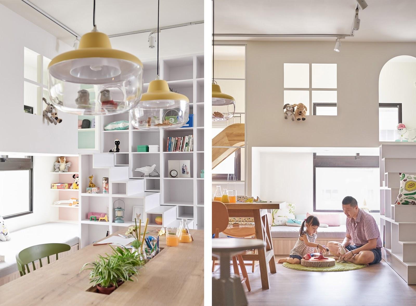 Casa Con Scivolo E Giochi Per Bambini In Taiwan By Hao Design Arc