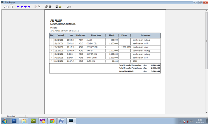 Download Software Pembukuan Pulsa Elektrik