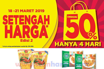 Katalog Promo Lulu Edisi Khusus Setengah Harga Weekday 18 - 21 Maret 2019