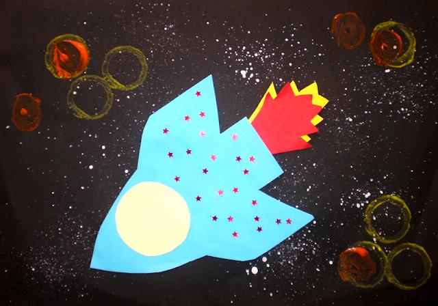 Cu racheta prin Univers