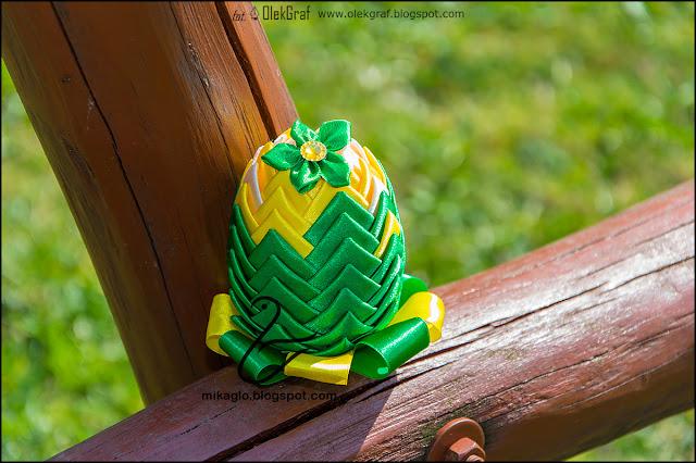 405. Jajeczko ze wstążek / Easter robbon egg