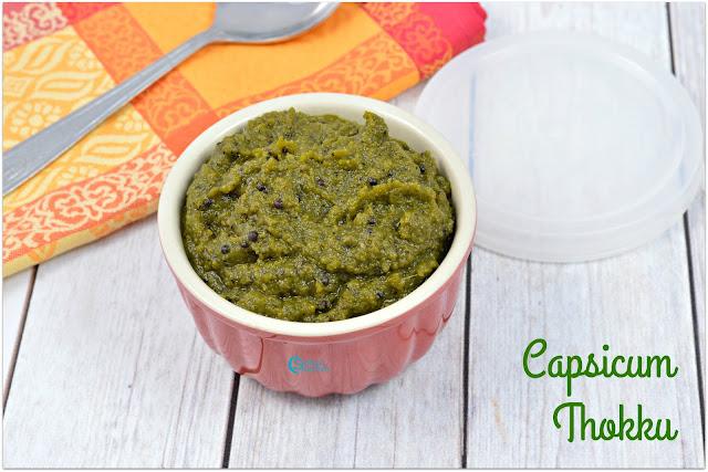 Capsicum Thokku Recipe