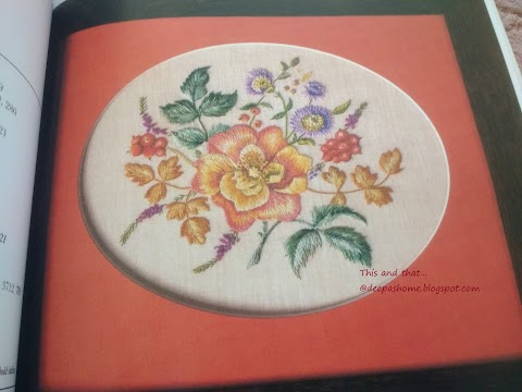 Embroideries from an English Garden - a book review