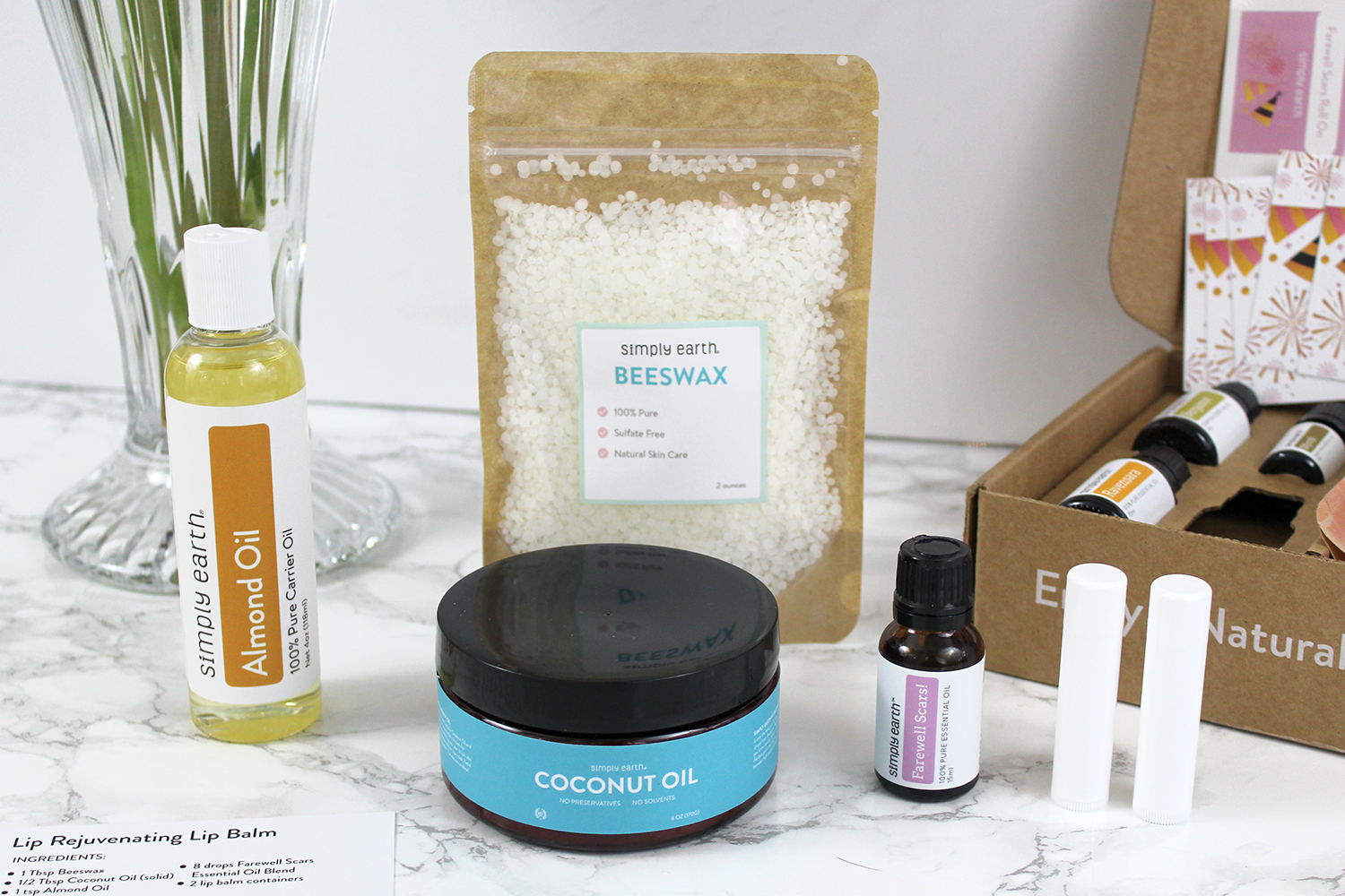 Southern Mom Loves: Simply Earth Essential Oil Recipe Box