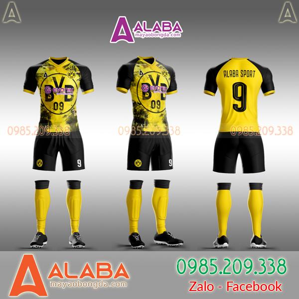 Áo CLB Dortmund 2019 tự thiết kế mã ALB DO04