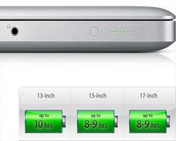 bateria de longa duração macbook para profissionais