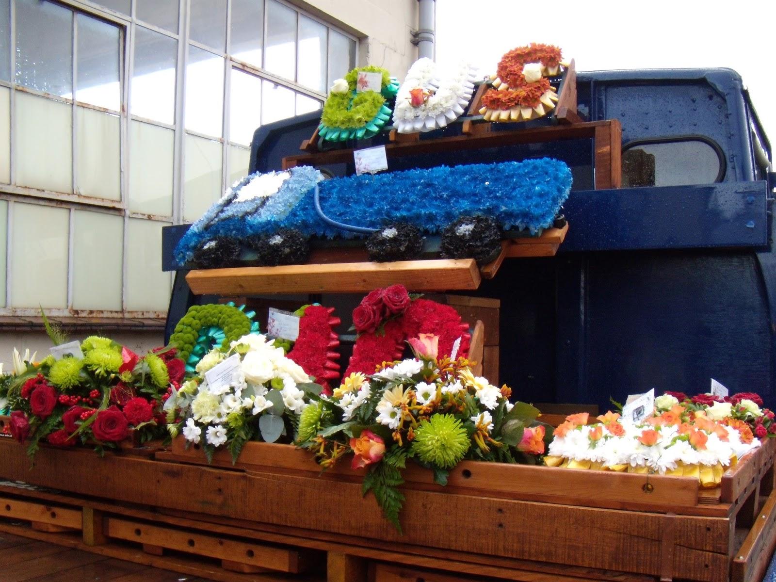 Vintage Lorry Funerals 2016