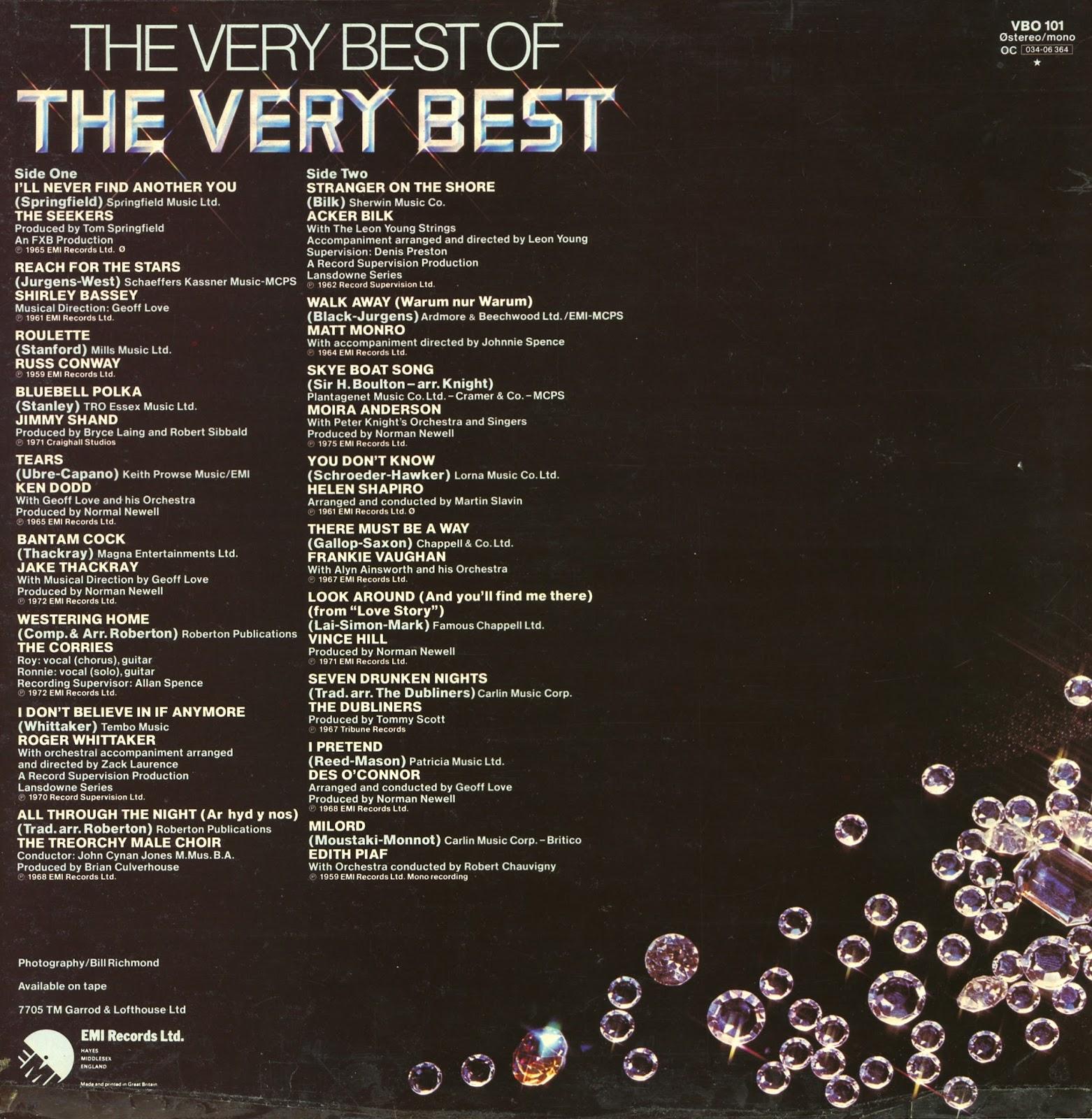 Luigi S 50 S Amp 60 S Vinyl Corner The Very Best Of The