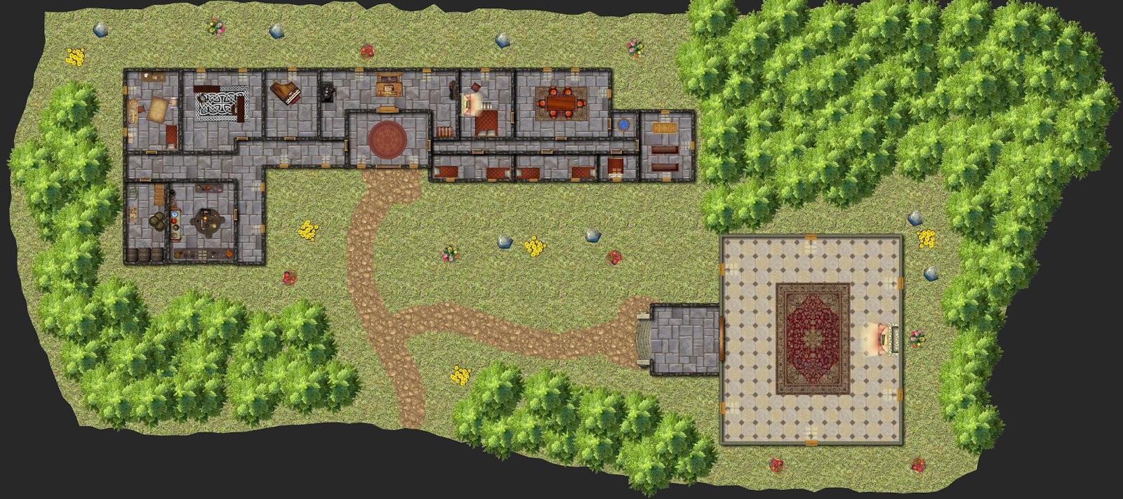 Aventura de nivel 1 para Dungeons & Dragons - Ladrones de Sueños - Mansión Gobernador